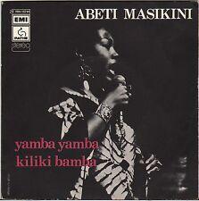 """ABETI MASIKINI """"YAMBA YAMBA"""" AFRICAN SOUL SP 1975 PATHE"""