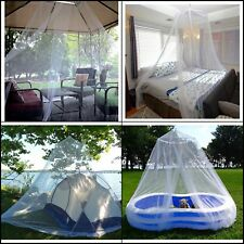 Premium Indoor/Outdoor Mosquito Net for King Bed Camping Mosquito Net Canopy Kit