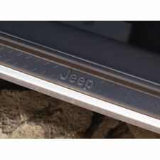 NEW 2007-2018 Jeep Wrangler Unlimited 4 Door Sill Guards OEM MOPAR #82210106AB