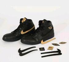 Nike Air Jordan 1 Retro High BHM Black Gold Size 12. 908656-001 og all star