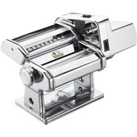 Atlas Electric Pasta Machine, Silver with Motor Set