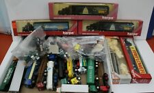 Huge Lot of 25 Herpa/ Con-Cor 1:87 HO Semis Trucks Tankers Tractors some Boxed
