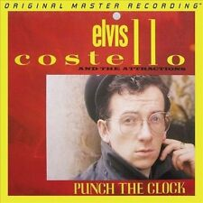 Punch the Clock [Limited Edition] by Elvis Costello & the Attractions/Elvis Costello (Vinyl, Dec-2012, Mobile Fidelity Sound Lab)