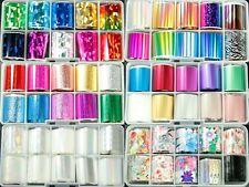 Box of 10 Rolls Space Nail Art Transfer Foils each 2.5cm x 1m Buy 3 Get 1