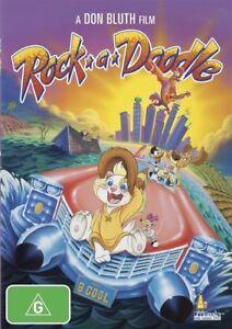 Rock-A-Doodle (DVD, 2010) Region 4 - BRAND NEW+SEALED