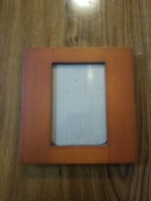 umbra picture frame 3.5x5 Photo Size wood Mahogany  standing hanging