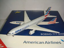 "Gemini Jets 400 American Airlines AA B777-200ER ""OneWorld color"" 1:400"