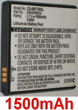 Battery 1500mAh type EB484659VA For Samsung SGH-I677 Focus Flash