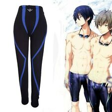NEW Casual Anime Free! Iwatobi Swim Club Rei Ryugazaki Cosplay Pant Swim Trunks