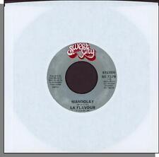 """La Flavour - Mandolay + Midnight Confessions - 1979- 7"""" 45 RPM Disco Single!"""