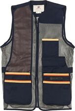 Beretta US Two Tone Blue Total Eclipse Mens Shooting Vest. Size Small.