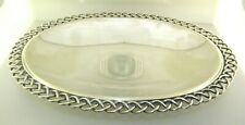 Antique Jakob Grimminger Silver 835 Oval Bowl Tray Germany Cr.1900