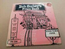 "BOB SCOBEY'S FRISCO BAND * GOODTIME JAZZ * 7"" EP SINGLE EXCELLENT P/S EPG 1250"