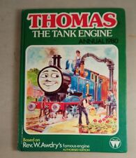 THOMAS THE TANK ENGINE ANNUAL 1980 by Awdry, Rev. W. Book signed by awdry