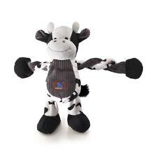 Charming Pet Pulleez Farm Plush Rope Dog Toy with K9 Tough Guard - Farm Cow