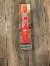 PINK GROOVY MOTION LAVA LAMP NEW IN BOX
