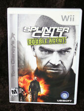 Nintendo Wii Tom Clancy's Splinter Cell Double Agent Game w/ Booklet