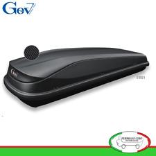 Gev E9021 - BOX BAULE UNIVERSALE PORTABAGAGLI AUTO EASY BLACK 530 LT NERO OPACO