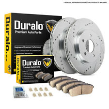 For Volvo S60 S80 V70 XC70 w/ 286mm Discs Front Brake Pads And Rotors Kit DAC