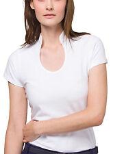 Cotton Mandarin Collar Tops & Shirts for Women