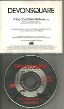 DEVONSQUARE If you could See me Now PICTURE DISC PROMO Radio DJ CD single 1991