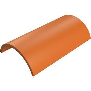 crest half round 420mm clay ridge tiles - Y