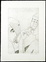 Untitled, 1971. Radierung von Joachim SCHMETTAU (*1937 D), handsigniert