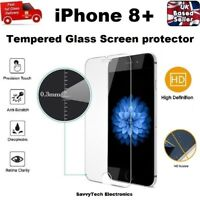 Shatter Proof Bubble Free Tempered Glass Screen Protector for iPhone 8 PLUS
