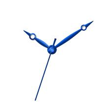 ETA 2824-2 movement hands set hour minute second blue  aiguilles Zeigern Breguet