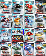 DISNEY CARS ICE CARBON RACERS 2015 FLASH LEWIS FRANCESCO RAOUL MIGUEL CAMINO SHU