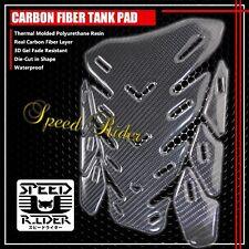 GENUINE CARBON FIBER CUSTOMIZABLE GAS/FUEL TANK PAD 3D GEL DECAL GUARD STICKER