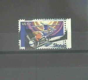 US 10c Skylab Space Mint NH Stamp w/ Drastically Misplaced Printing Error