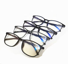 Fashion Square Frame Blue light Filter Bussiness Reading Glasses Reader+0.50~4.0