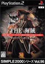 PS2 Simple 2000 Serie Vol.96 La Pirate-Skull Said Piratas! Japón PLAYSTATION 2