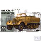 PKAF35040 AFV Club 1:35 Scale SdKfz 11 3-Ton Half-track