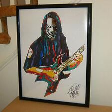 Mick Thomson Slipknot Guitar Heavy Metal Music Poster Print Wall Art 18 x 24