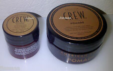 American Crew POMADE 50g tub + 15g Tub New & Genuine AmericanCrew