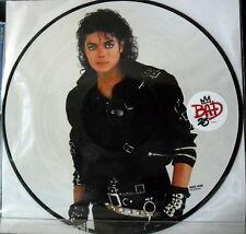 Michael Jackson: Bad 25th Anniversary Edition Picture Disc LP Vinyl 33 rpm 2012