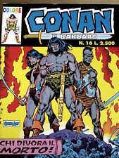Conan il Barbaro COLORE n°16 ed. Marvel Comic ART  [G.187]