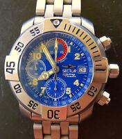 Sector No Limits Diving Team 1000 Titan Automatik Chronograph Ref.3123985035 OVP
