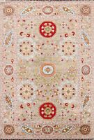 Vegetable Dye Super Kazak Floral Oriental Area Rug Wool Hand-knotted 6x8 Carpet