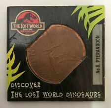 Tetley The Lost World Jurassic Park Coin / Token No. 8 PTERANODON 1997 (884AJ)