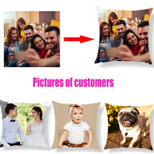 Personalised Custom Image Printed Cushion Cover Pet Life Photo Pillow Cover Case