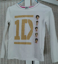 ONE DIRECTION Bundle: 2013 1D Shirt (9-10) + 2013 Mega Sticker Book 1D Fan Gift