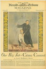 Crime Control Louis McHenry Howe Andre Siegfried Ivo Saliger February 12 1933