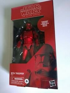 Star Wars Black Series Sith Trooper Carbonised MINT