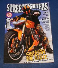 STREETFIGHTERS MAGAZINE JANUARY 2010 - SMASH THE STATE ANARCHIC HORNET