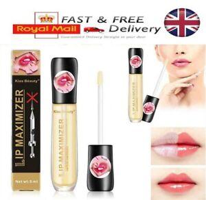Lip Plumper Extreme Lip Gloss Maximizer Plump Volume Bigger Lips Moisturizing UK