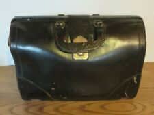 Vintage & Retro - Cheney - Leather Doctors Bag England --Top Grain Cowhide
