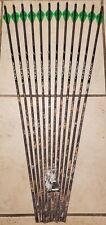 (12)Carbon Express Piledriver Hunter 450 arrows (300 spine) will cut